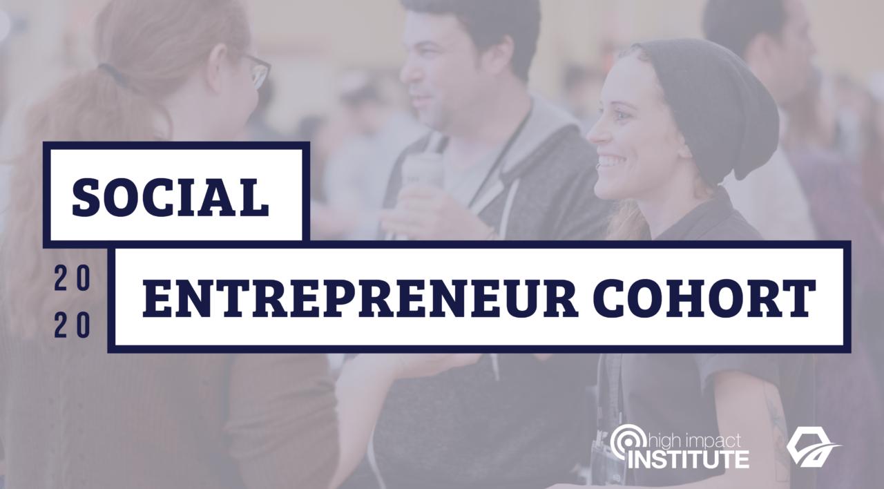 Social Entrepreneur Cohort_2020
